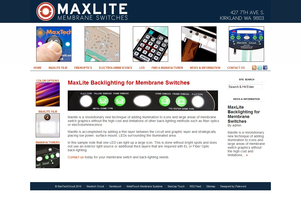 maxlitemembrane